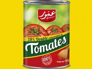 Double concentré de tomate 28%