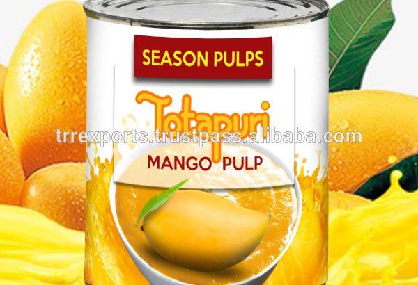 les purées et concentrés de mangue