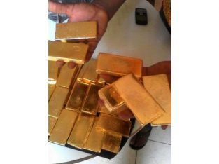 155kg d'or disponible 22 carats plus