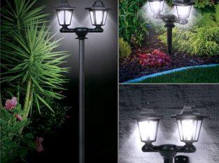 Achat lampe solaire de jardin